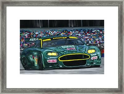Aston Martin Wins Le Mans 2008 Framed Print