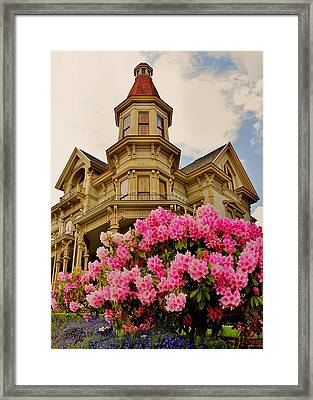 Astoria Framed Print by Benjamin Yeager