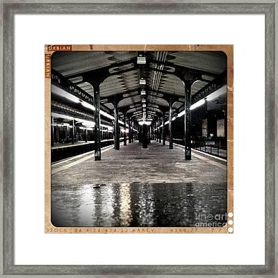 Astoria Boulevard Framed Print by James Aiken