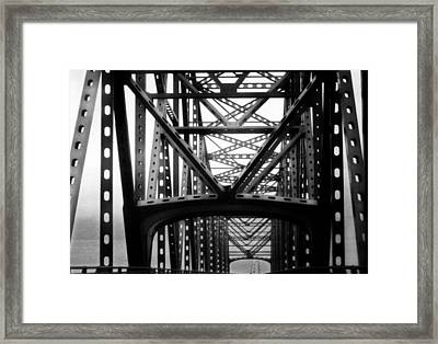 Astoria Bridge Framed Print