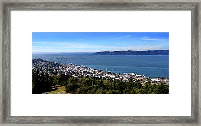 Aaron Berg Photography Framed Print featuring the photograph Astoria Oregon by Aaron Berg