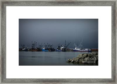 Astoria Safe Harbor Framed Print by Chalet Roome-Rigdon