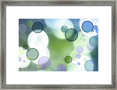 Astract Background Framed Print by Les Cunliffe