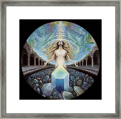 Astral Emergence Framed Print by Morgan Mandala Manley