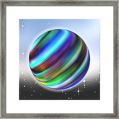 Astral Occurrence Framed Print by Wendy J St Christopher