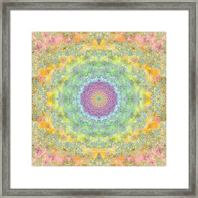 Astral Field Framed Print