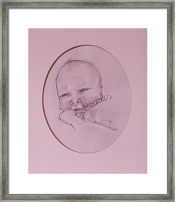 Astrid Framed Print