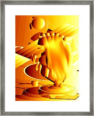 Astriggered1b Framed Print by Immo Jalass