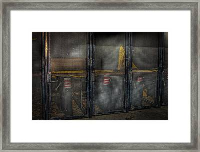 Astrodome Gates Framed Print by David Morefield