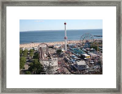 Astroland Coney Island Framed Print