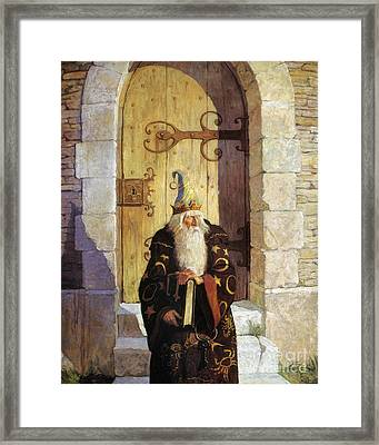 Astrologer, 1916 Framed Print by Granger