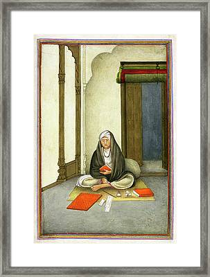 Astrologer In India Framed Print by British Library