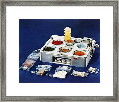 Astronaut Food Framed Print by Nasa