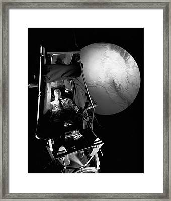 Astronaut Training Framed Print by Nasa