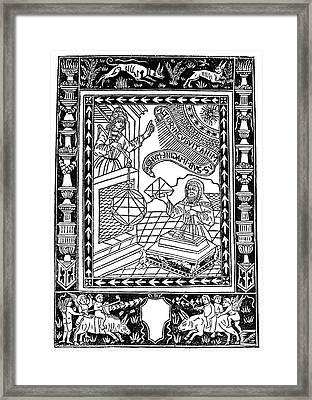 Astronomer, 1493 Framed Print by Granger