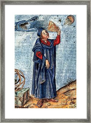 Astronomer 16th Century Framed Print by Nypl