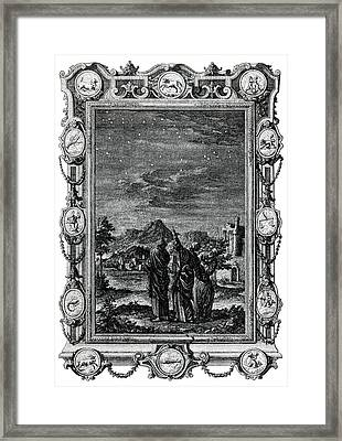 Astronomers Framed Print by Cci Archives