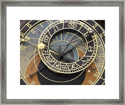 Astronomical Clock Prague Framed Print by Eva Csilla Horvath