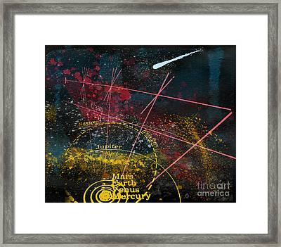 Astronomie Framed Print by R Kyllo
