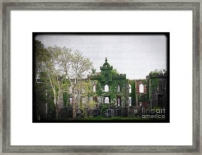 Asylum Growth Framed Print by Paul Cammarata