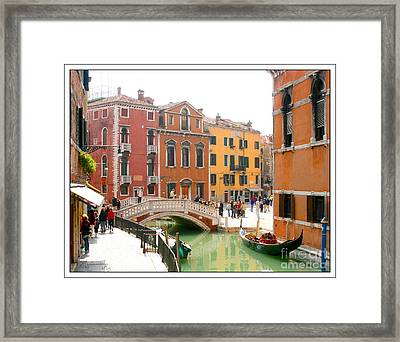 At A Leisurely Pace Framed Print
