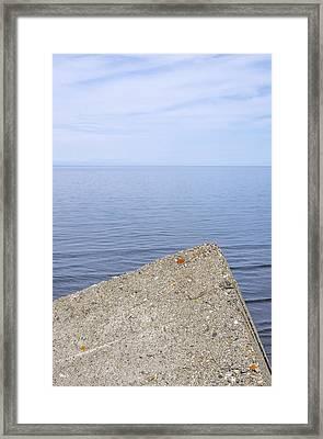 At An Angle Framed Print