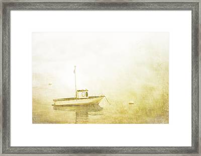 At Anchor Bar Harbor Maine Framed Print