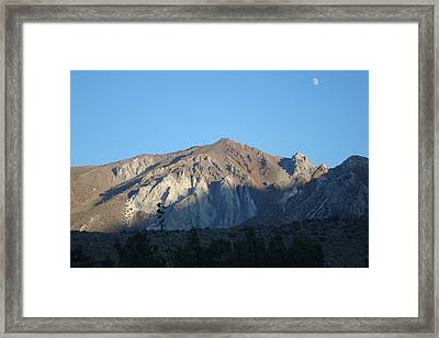 At Convict Lake Campground Framed Print