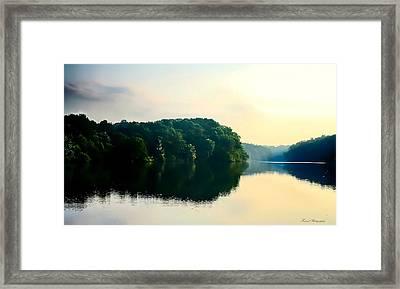 At Dawn  Framed Print by Debra Forand