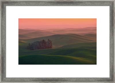 At Dawn Framed Print