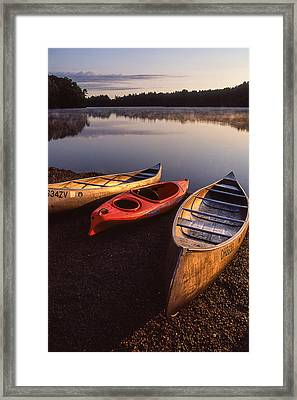 At Daybreak Framed Print by Dale Kincaid