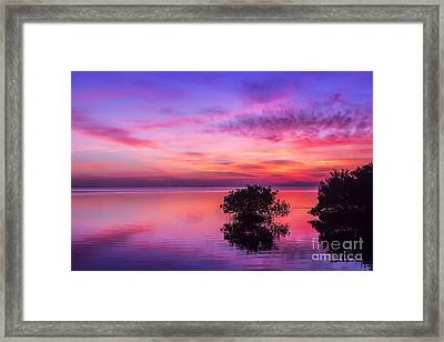 At Days End Framed Print