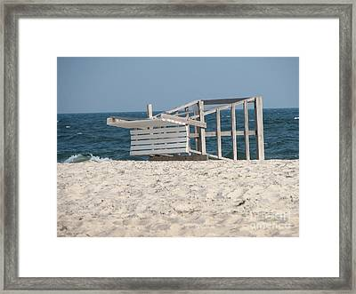 At Days End Framed Print by Roxy Riou