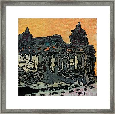 At Dusk Framed Print by Oscar Penalber