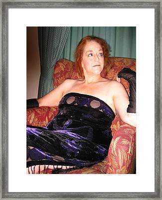 At Ease Framed Print by David Trotter