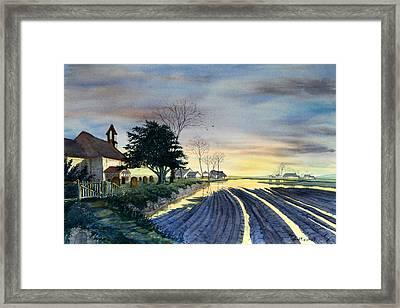 At Eventide Framed Print by Glenn Marshall