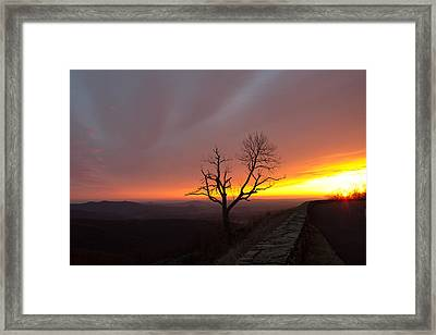 At First Light Framed Print by Everett Houser