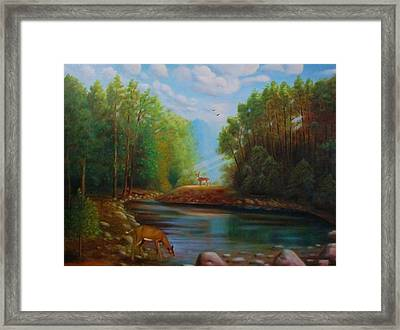 At First Sight Framed Print