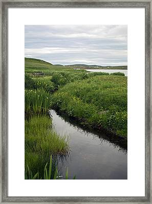 At Flugarth Framed Print by Steve Watson