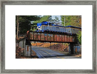 At Gibb's Crossing Framed Print by Mike Martin