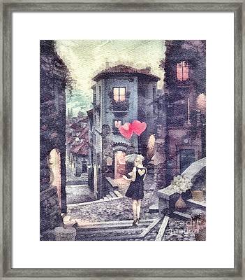 At Heart Framed Print by Mo T