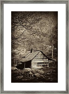 At Home In The Appalachian Mountains Framed Print by Paul W Faust -  Impressions of Light