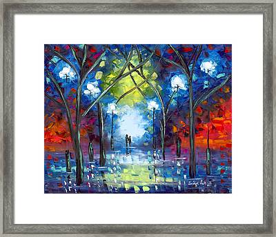At Last Framed Print by Jessilyn Park