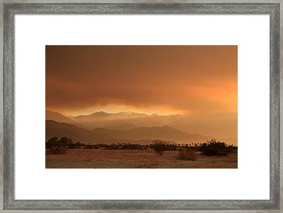 At Least A Ray Of Hope Framed Print by Laurie Search