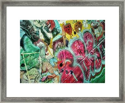 At Louis' Framed Print by Olivier Calas