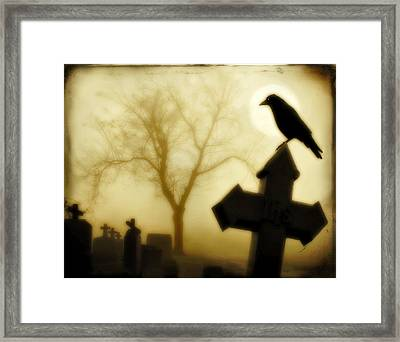 At Midnight Framed Print by Gothicrow Images