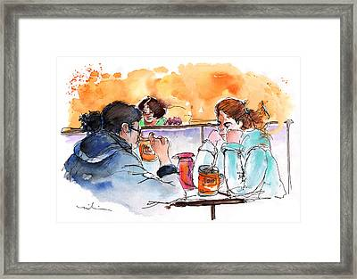 At Nashville Ihop Framed Print by Miki De Goodaboom