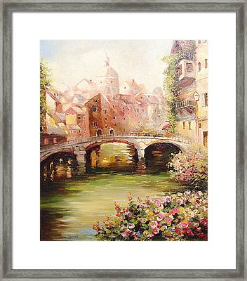 At Noon Framed Print