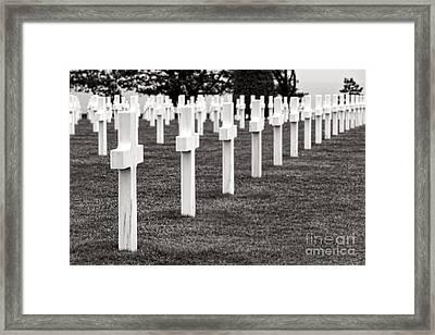 At Normandy Framed Print