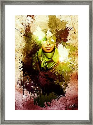 At Peace Framed Print by Aj Collyer